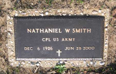 SMITH (VETERAN), NATHANIEL WARREN - Lawrence County, Arkansas | NATHANIEL WARREN SMITH (VETERAN) - Arkansas Gravestone Photos