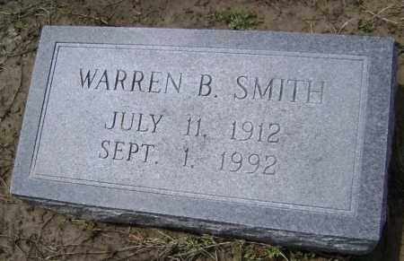 SMITH, WARREN B. - Lawrence County, Arkansas | WARREN B. SMITH - Arkansas Gravestone Photos
