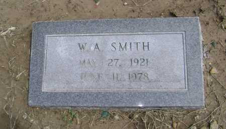 "SMITH, WILLIAM ARTHUR ""W. A."" - Lawrence County, Arkansas 