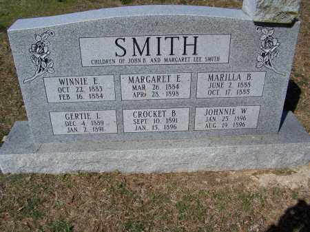 SMITH, CROCKET B. - Lawrence County, Arkansas | CROCKET B. SMITH - Arkansas Gravestone Photos