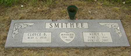 GOSHA SMITHEE, ALICE LOUISE - Lawrence County, Arkansas | ALICE LOUISE GOSHA SMITHEE - Arkansas Gravestone Photos