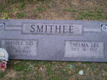 "SMITHEE, BERNICE SIDNEY ""SID"" - Lawrence County, Arkansas 