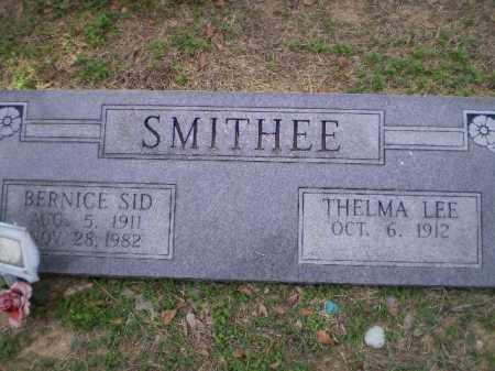 "SMITHEE, BERNICE SIDNEY ""SID"" - Lawrence County, Arkansas | BERNICE SIDNEY ""SID"" SMITHEE - Arkansas Gravestone Photos"