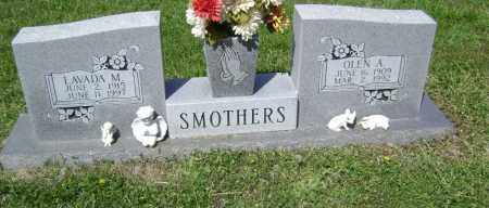 SMOTHERS, OLEN A. - Lawrence County, Arkansas | OLEN A. SMOTHERS - Arkansas Gravestone Photos