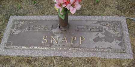 SNAPP, WILLIAM BRUIN - Lawrence County, Arkansas | WILLIAM BRUIN SNAPP - Arkansas Gravestone Photos