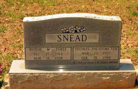 "TYREE SNEAD, RUTH MONDOZIA ""RUTHIE"" - Lawrence County, Arkansas 