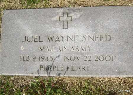 SNEED (VETERAN), JOEL WAYNE - Lawrence County, Arkansas | JOEL WAYNE SNEED (VETERAN) - Arkansas Gravestone Photos