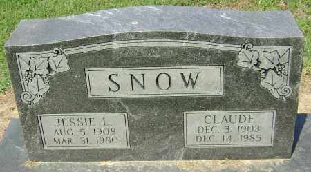SNOW, JESSIE L. - Lawrence County, Arkansas | JESSIE L. SNOW - Arkansas Gravestone Photos
