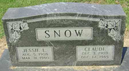 SNOW, CLAUDE - Lawrence County, Arkansas | CLAUDE SNOW - Arkansas Gravestone Photos