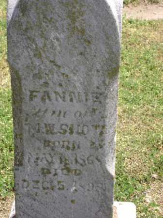 "SNOW, FRANCES ""FANNIE"" - Lawrence County, Arkansas 