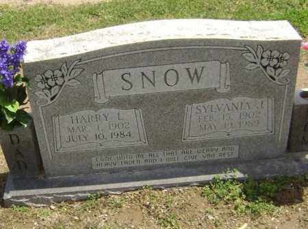 BELLAH SNOW, SYLVANIA JANE - Lawrence County, Arkansas | SYLVANIA JANE BELLAH SNOW - Arkansas Gravestone Photos