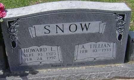 "SNOW, HOWARD LEE ""JOE"" - Lawrence County, Arkansas | HOWARD LEE ""JOE"" SNOW - Arkansas Gravestone Photos"