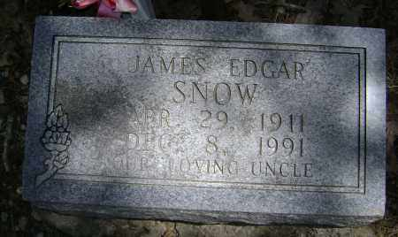 SNOW, JAMES EDGAR - Lawrence County, Arkansas | JAMES EDGAR SNOW - Arkansas Gravestone Photos