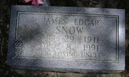 SNOW, JAMES EDGAR - Lawrence County, Arkansas | JAMES EDGAR SNOW - Arkansas Gravestone Photos