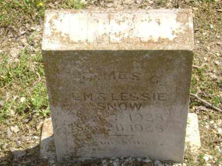 SNOW, JAMES GORDON - Lawrence County, Arkansas | JAMES GORDON SNOW - Arkansas Gravestone Photos