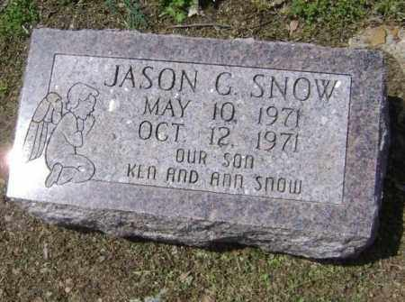 SNOW, JASON G. - Lawrence County, Arkansas | JASON G. SNOW - Arkansas Gravestone Photos