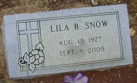DICKSON SNOW, LILA B. - Lawrence County, Arkansas | LILA B. DICKSON SNOW - Arkansas Gravestone Photos