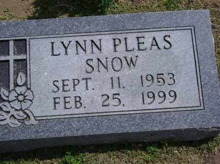 SNOW, LYNN PLEAS - Lawrence County, Arkansas | LYNN PLEAS SNOW - Arkansas Gravestone Photos