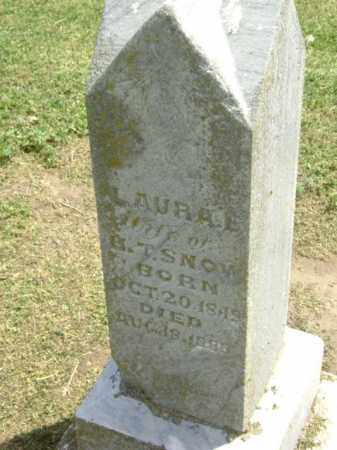 SNOW, LAURA E. - Lawrence County, Arkansas | LAURA E. SNOW - Arkansas Gravestone Photos