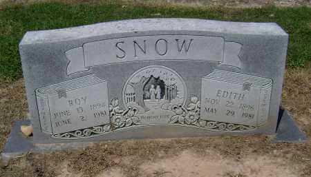 SNOW, EDITH LENORA - Lawrence County, Arkansas | EDITH LENORA SNOW - Arkansas Gravestone Photos