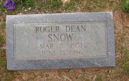 SNOW, ROGER DEAN - Lawrence County, Arkansas | ROGER DEAN SNOW - Arkansas Gravestone Photos