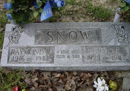 SNOW, OPAL B. - Lawrence County, Arkansas | OPAL B. SNOW - Arkansas Gravestone Photos