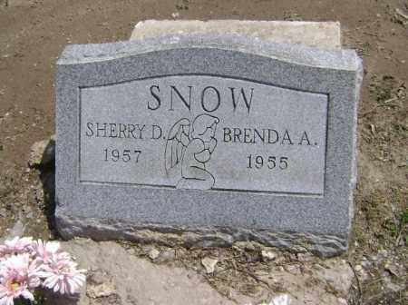SNOW, BRENDA A. - Lawrence County, Arkansas | BRENDA A. SNOW - Arkansas Gravestone Photos