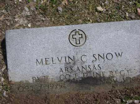 "SNOW (VETERAN WWII), MELVIN C. ""DUDE"" - Lawrence County, Arkansas 