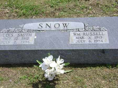SMITH SNOW, LOIS - Lawrence County, Arkansas | LOIS SMITH SNOW - Arkansas Gravestone Photos
