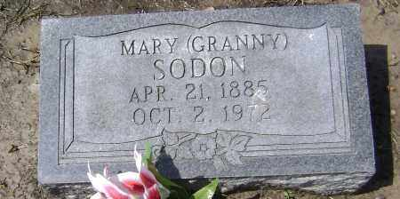 SODON, MARY - Lawrence County, Arkansas | MARY SODON - Arkansas Gravestone Photos