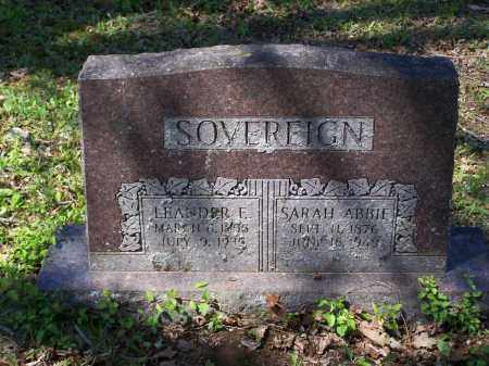 HEDRICK SOVEREIGN, SARAH ABIGAIL - Lawrence County, Arkansas | SARAH ABIGAIL HEDRICK SOVEREIGN - Arkansas Gravestone Photos