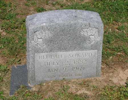 SOWARD, BEULAH - Lawrence County, Arkansas | BEULAH SOWARD - Arkansas Gravestone Photos