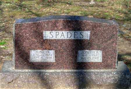 SPADES, JOSEPH AUSTIN - Lawrence County, Arkansas | JOSEPH AUSTIN SPADES - Arkansas Gravestone Photos