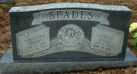 "SPADES, JR. (VETERAN WWII), SEBASTIAN AUGUSTINE  ""SPEEDY"" - Lawrence County, Arkansas | SEBASTIAN AUGUSTINE  ""SPEEDY"" SPADES, JR. (VETERAN WWII) - Arkansas Gravestone Photos"
