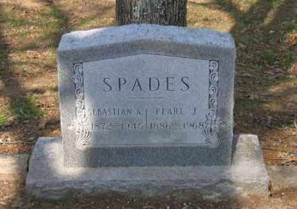 JUDKINS SPADES, IVIE PEARLE M. - Lawrence County, Arkansas | IVIE PEARLE M. JUDKINS SPADES - Arkansas Gravestone Photos