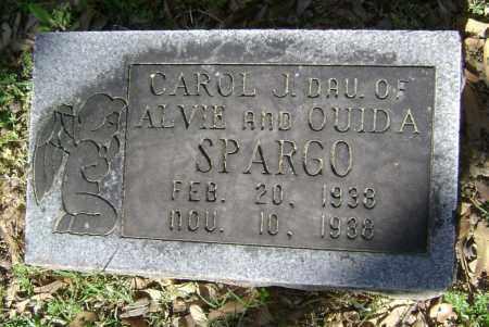 SPARGO, CAROL J. - Lawrence County, Arkansas | CAROL J. SPARGO - Arkansas Gravestone Photos