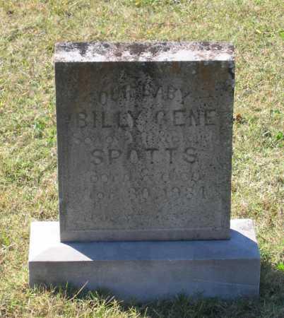 SPOTTS, BILLY GENE - Lawrence County, Arkansas | BILLY GENE SPOTTS - Arkansas Gravestone Photos