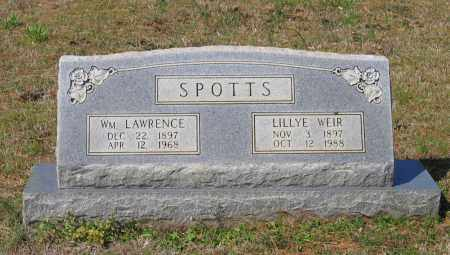 SPOTTS, WILLIAM LAWRENCE - Lawrence County, Arkansas | WILLIAM LAWRENCE SPOTTS - Arkansas Gravestone Photos