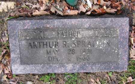 SPRADLIN, ARTHUR R. - Lawrence County, Arkansas | ARTHUR R. SPRADLIN - Arkansas Gravestone Photos