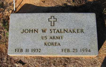 STALNAKER (VETERAN KOR), JOHN WILLIAM WESLEY - Lawrence County, Arkansas | JOHN WILLIAM WESLEY STALNAKER (VETERAN KOR) - Arkansas Gravestone Photos
