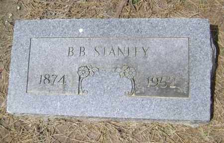 STANLEY, B. B. - Lawrence County, Arkansas | B. B. STANLEY - Arkansas Gravestone Photos