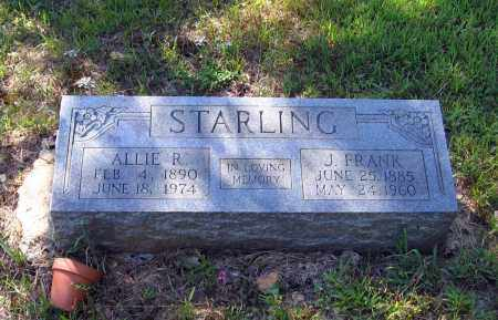 STARLING, ALLIE R. - Lawrence County, Arkansas | ALLIE R. STARLING - Arkansas Gravestone Photos