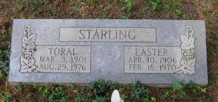 STARLING, TORAL ELMER - Lawrence County, Arkansas | TORAL ELMER STARLING - Arkansas Gravestone Photos