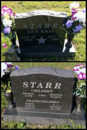 STARR, ANNA CHRISTEEN 'KRIS' - Lawrence County, Arkansas | ANNA CHRISTEEN 'KRIS' STARR - Arkansas Gravestone Photos