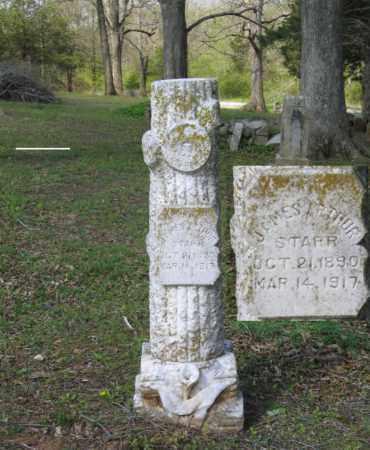 STARR, JAMES ARTHUR - Lawrence County, Arkansas | JAMES ARTHUR STARR - Arkansas Gravestone Photos