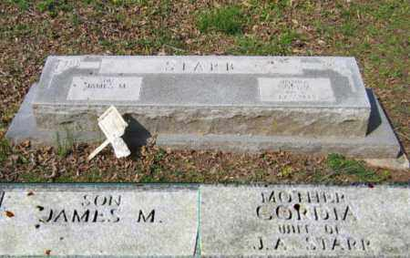 STARR, JAMES MILLARD - Lawrence County, Arkansas | JAMES MILLARD STARR - Arkansas Gravestone Photos