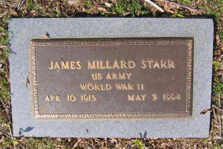 STARR (VETERAN WWII), JAMES MILLARD - Lawrence County, Arkansas | JAMES MILLARD STARR (VETERAN WWII) - Arkansas Gravestone Photos