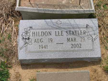STATLER (VETERAN), HILDON LEE - Lawrence County, Arkansas | HILDON LEE STATLER (VETERAN) - Arkansas Gravestone Photos