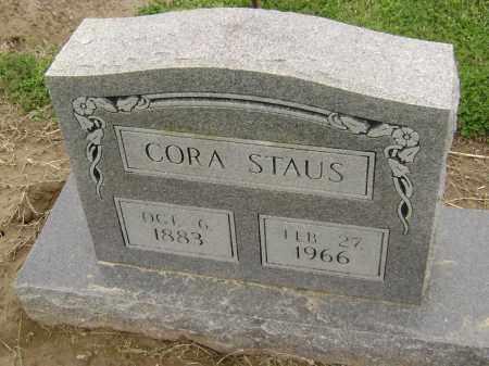STAUS, CORA - Lawrence County, Arkansas | CORA STAUS - Arkansas Gravestone Photos
