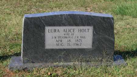 STEADMAN, LURA ALICE - Lawrence County, Arkansas | LURA ALICE STEADMAN - Arkansas Gravestone Photos